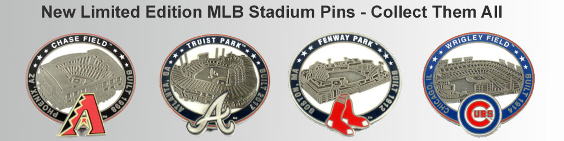 MLB Stadium Pins