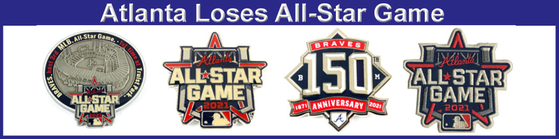 2021 atlanta all star game pins