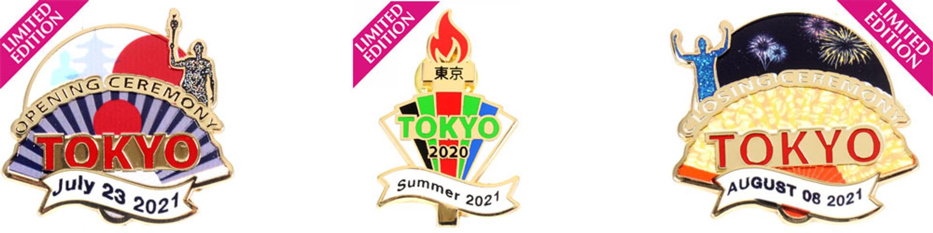 tokyo 2021 pins