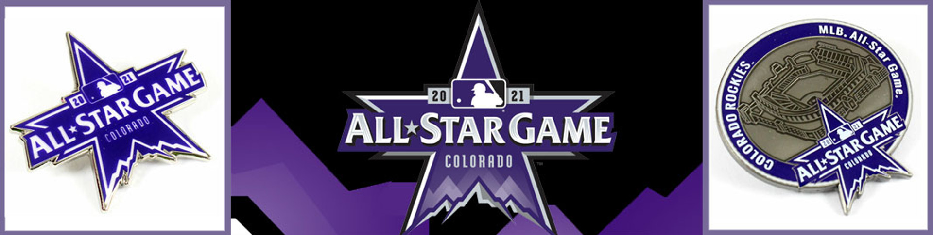 2021 mlb all star game pins