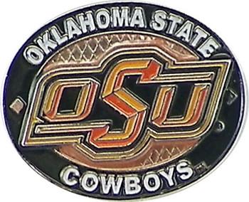 Oklahoma State Cowboys Oval Pin