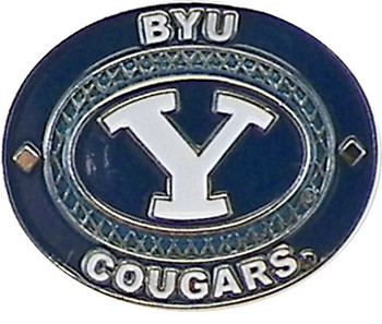 BYU Cougars Oval Pin