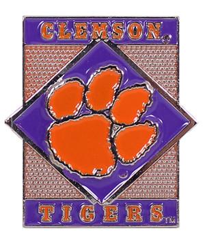 Clemson Tigers Diamond Pin