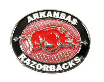 Arkansas Razorback Oval Pin
