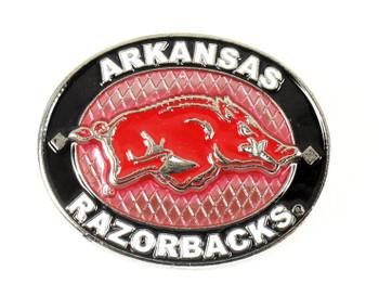 Arkansas Razorback Oval Pin