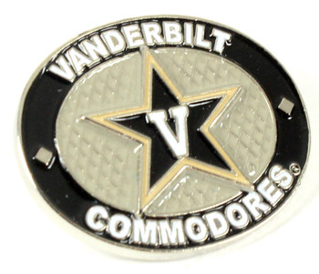 Vanderbilt Commodores Oval Pin