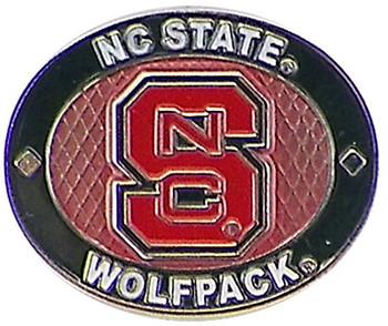 North Carolina State Wolfpack Oval Pin