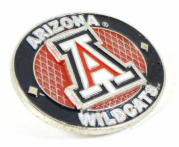 Arizona Wildcats Oval Pin