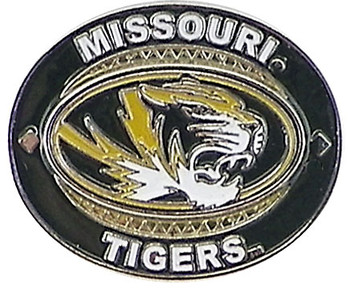 Missouri Tigers Oval Pin