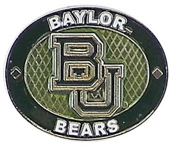 Baylor Bears Oval Pin