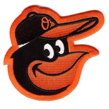 Baltimore Orioles Embroidered Emblem Logo Patch
