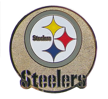 Pittsburgh Steelers Brass Magnet