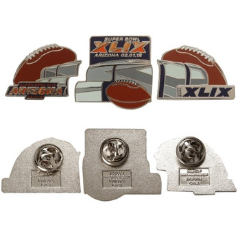 2015 Super Bowl XLIX Stadium Three Pin Set