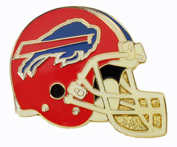 Buffalo Bills Helmet Pin - Red
