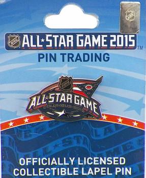 2015 NHL All-Star Game Logo Pin