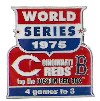 1975 World Series Commemorative Pin - Pirates vs. Yankees