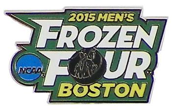 2015 Men's Frozen Four Logo Pin