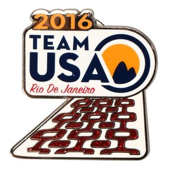 Rio de Janeiro 2016 Olympics Team USA Sidewalk Pin