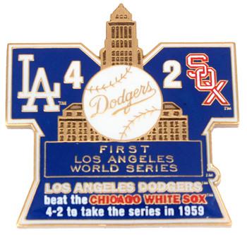 1959 World Series Commemorative Pin - Dodgers vs. White Sox