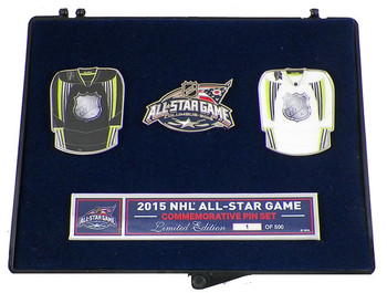 2015 NHL All-Star Game Jersey Pin Set - Limited 500