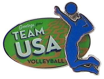 Rio de Janeiro 2016 Olympics Volleyball Pin