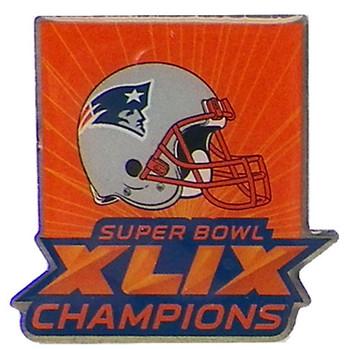 New England Patriots Super Bowl XLIX (49) Champions Pin - Arizona Style