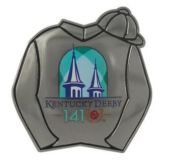 2015 Kentucky Derby 141 Jockey Silks Pin