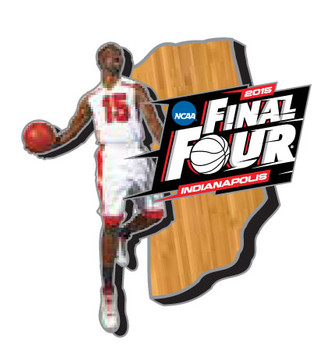 2015 Men's NCAA Final Four Slam Dunk Pin