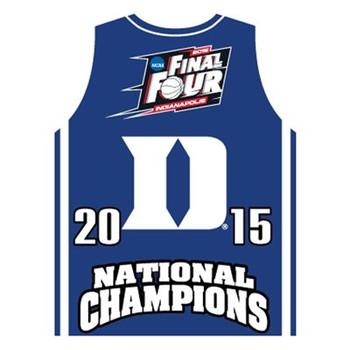 Duke Blue Devils 2015 Men's NCAA Final Four Champs Jersey Pin