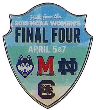 2015 Women's NCAA Final Four Teams Pin