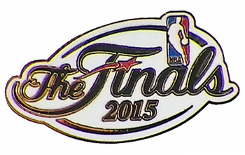2015 NBA Finals Logo Pin