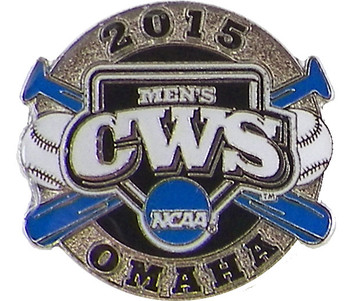 2015 NCAA College World Series Cross Bats Pin