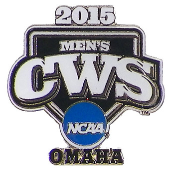 2015 NCAA College World Series Logo Pin