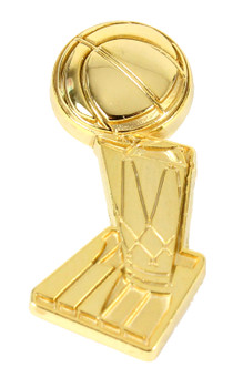 NBA Finals Trophy Pin