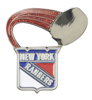 New York Rangers Glitter Trail Pin