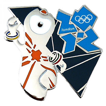 London 2012 Olympics Wenlock Pin