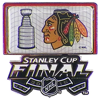 Chicago Blackhawks 2015 NHL Stanely Cup Finals Pin