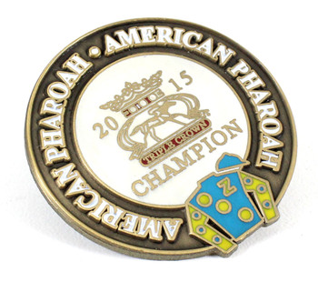 American Pharoah 2015 Horse Racing Triple Crown Winner Pin - Limited Edition