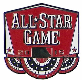 2015 MLB All-Star Game Banner Pin