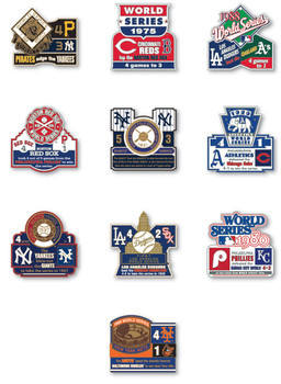 World Series History Commemorative Pin Collection - Release #2
