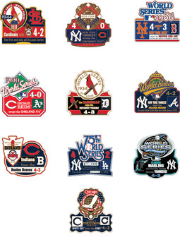 World Series History Commemorative Pin Collection - Release #4