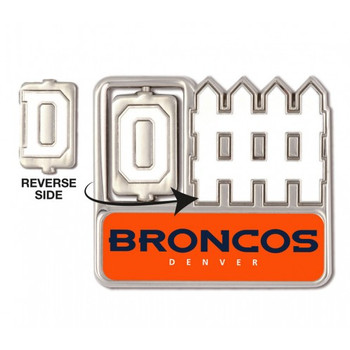 Denver Broncos Offense / Defense Spinner Pin