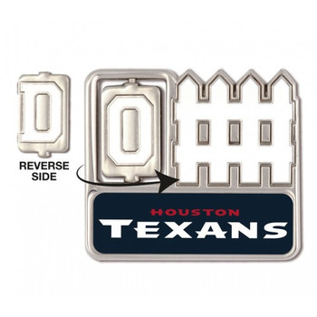 Houston Texans Offense / Defense Spinner Pin