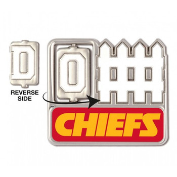 Kansas City Chiefs Offense / Defense Spinner Pin