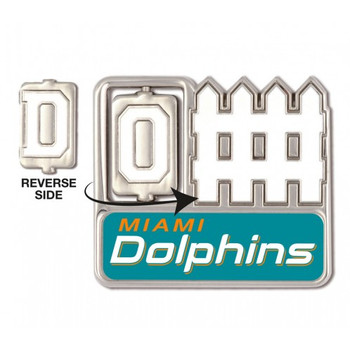 Miami Dolphins Offense / Defense Spinner Pin