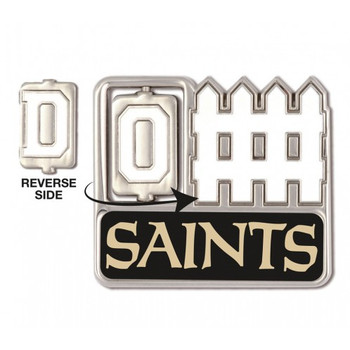 New Orleans Saints Offense / Defense Spinner Pin