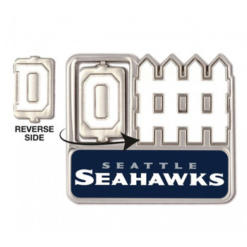 Seattle Seahawks Offense / Defense Spinner Pin