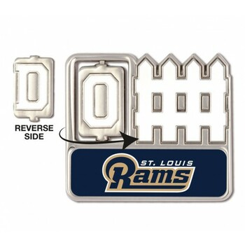 St. Louis Rams Offense / Defense Spinner Pin