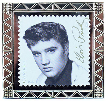 Elvis Presley Stamp Pin