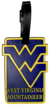 West Virginia Mountaineers Luggage Tag
